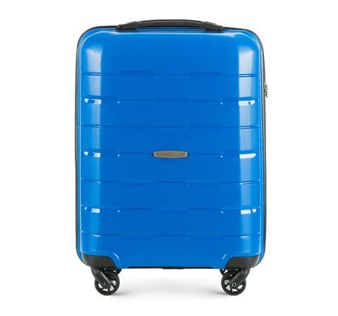 Чемодан ручная кладь, голубой, 56-3T-721-77, Фотография 1
