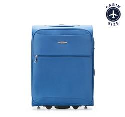 Чемодан ручная кладь, голубой, V25-3S-241-90, Фотография 1