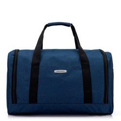 Дорожная сумка среднего размера, голубой, 56-3S-942-95, Фотография 1