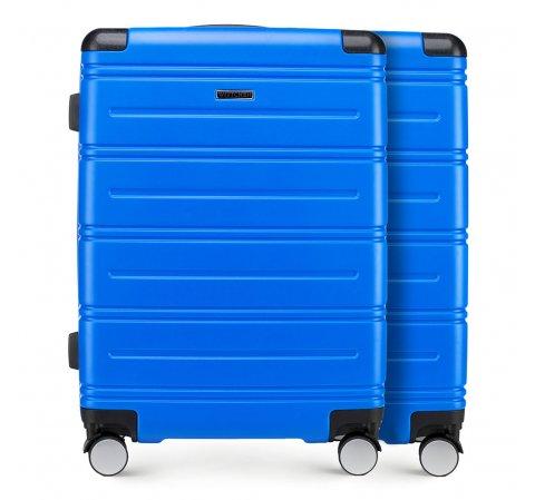 Комплект (2x средний чемодан), голубой, 56-3A-442_2-90, Фотография 1