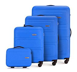 Комплект чемоданов, голубой, 56-3A-63K-95, Фотография 1