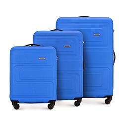 Комплект чемоданов, голубой, 56-3A-63S-95, Фотография 1