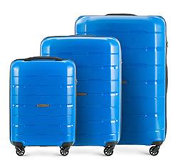 Комплект чемоданов, голубой, 56-3T-72S-95, Фотография 1