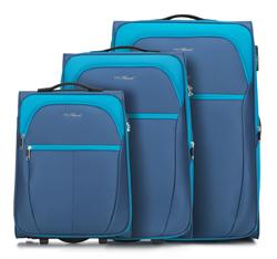 Комплект чемоданов, голубой, V25-3S-23S-95, Фотография 1