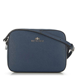 ная сумка-коробочка через плечо, голубой, 29-4E-005-NN, Фотография 1