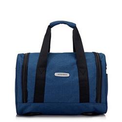 Маленькая дорожная сумка, голубой, 56-3S-941-95, Фотография 1