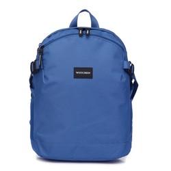 Маленький рюкзак basic, голубой, 56-3S-937-95, Фотография 1