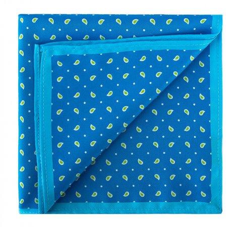 Нагрудный платок, голубой, 81-7P-P16-N, Фотография 1
