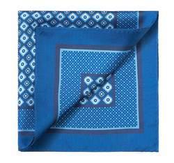 Нагрудный платок, голубой, 83-7P-101-X11, Фотография 1