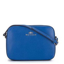 ная сумка-коробочка через плечо, голубой, 29-4E-005-7, Фотография 1