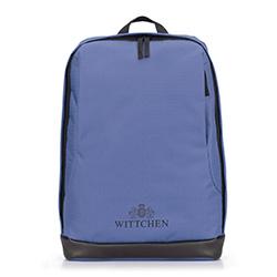 Рюкзак, голубой, 87-3P-050-9, Фотография 1