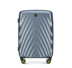 Средний чемодан, светло голубой, 56-3P-802-90, Фотография 1