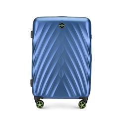 Средний чемодан, голубой, 56-3P-802-91, Фотография 1