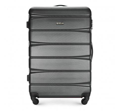 Большой чемодан, графит, 56-3A-363-36, Фотография 1