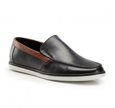 Férfi cipő, fekete-szürke, 86-M-901-8-41, Fénykép 1