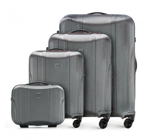Комплект чемоданов, графит, 56-3P-91K-10, Фотография 1