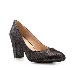 Női cipő, fekete-szürke, 85-D-502-8-38, Fénykép 1