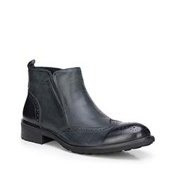 Обувь мужская, графит, 87-M-825-8-43, Фотография 1
