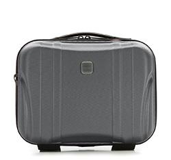 Modern polikarbonát utazótáska, fekete-szürke, 56-3P-914-00, Fénykép 1