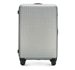 Großer Koffer, grau-blau, 56-3A-413-00, Bild 1