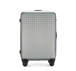 Mittelgroßer Koffer, grau-blau, 56-3A-412-00, Bild 1
