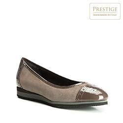 Frauen Schuhe, grau-braun, 83-D-107-8-35, Bild 1