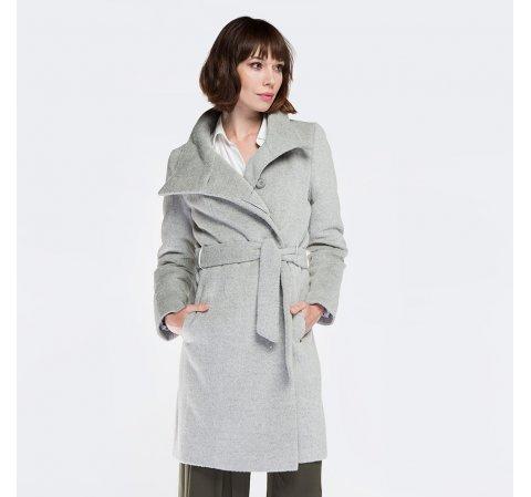 Damenmantel, grau, 87-9W-102-8-L, Bild 1