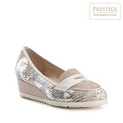 Frauen Schuhe, grau, 82-D-111-9-38, Bild 1