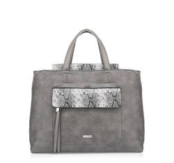 Damentasche, grau, 85-4Y-210-8, Bild 1