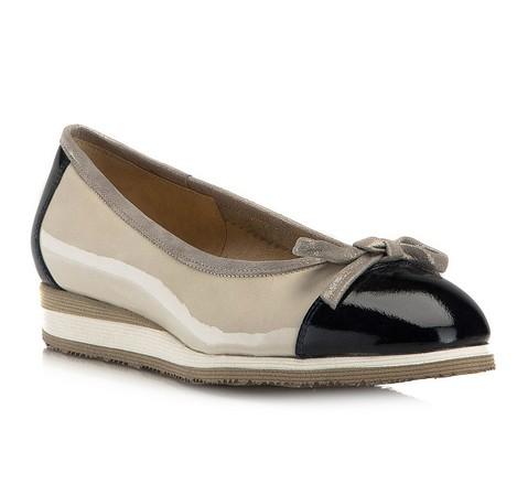 Frauen Schuhe, grau-dunkelblau, 80-D-108-0-36_5, Bild 1