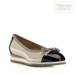 Frauen Schuhe, grau-dunkelblau, 80-D-108-0-37, Bild 1