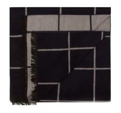 Schal, grau-dunkelblau, 85-7M-S40-X10, Bild 1