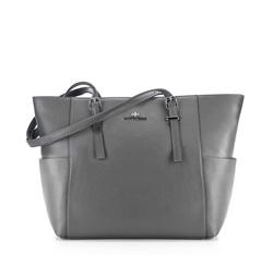 Einkaufstasche, grau, 85-4E-456-8, Bild 1