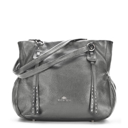 Einkaufstasche, grau, 86-4E-382-8, Bild 1
