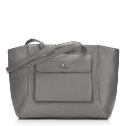 Einkaufstasche, grau, 87-4E-200-8, Bild 1