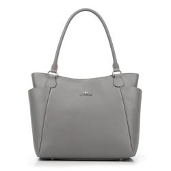 Einkaufstasche, grau, 87-4E-425-8, Bild 1