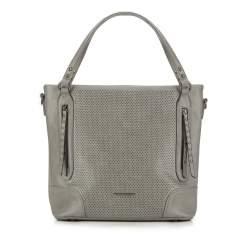 Einkaufstasche, grau, 87-4Y-401-8, Bild 1