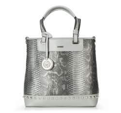 Einkaufstasche, grau, 87-4Y-768-8, Bild 1