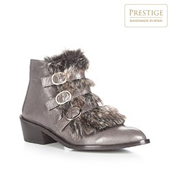 Frauen Schuhe, grau, 87-D-463-8-40, Bild 1