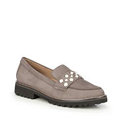 Frauen Schuhe, grau, 87-D-713-8-37, Bild 1