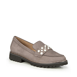 Frauen Schuhe, grau, 87-D-713-8-39, Bild 1