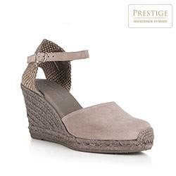 Frauen Schuhe, grau, 88-D-501-8-38, Bild 1