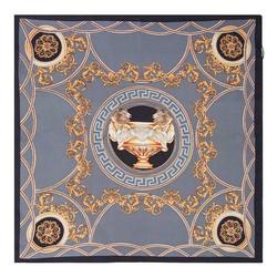 Frauenhalstuch, grau-gold, 89-7D-S14-X20, Bild 1