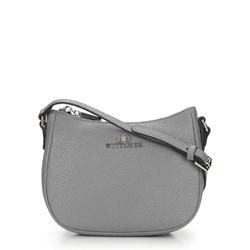 Handtasche, Umhängetasche, grau, 87-4E-426-8, Bild 1