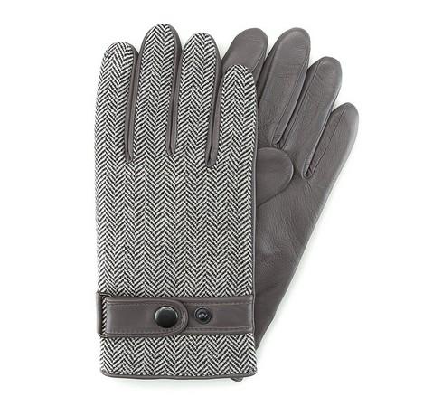 Herrenhandschuhe, grau, 39-6-355-S-S, Bild 1