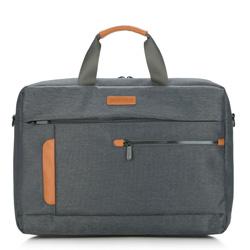 Laptoptasche, grau, 87-3P-111-8, Bild 1