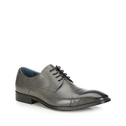 Männer Schuhe, grau, 87-M-910-8-40, Bild 1