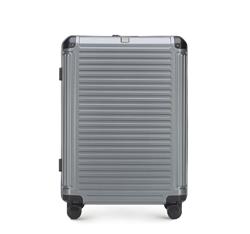 Mittelgroßer Koffer, grau, 56-3P-852-00, Bild 1
