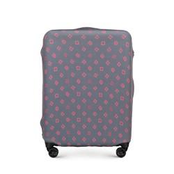 Mittelgroße Kofferschutzhülle, grau-rosa, 56-30-032-44, Bild 1