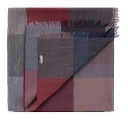 Herren-Halstuch, grau-rot, 83-7M-X01-X01, Bild 1